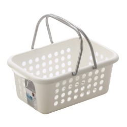 Bathroom basket white