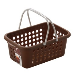 Bathroom basket brown