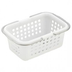 Bathroom basket white