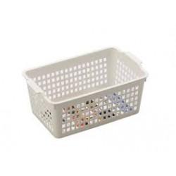 Basket case wide white