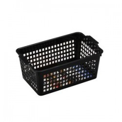 Basket case wide black
