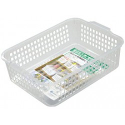 Basket case shallow type wide clear