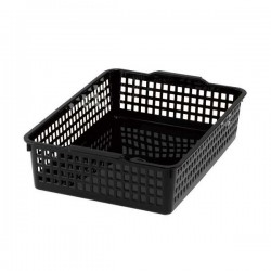 A4 basket case black