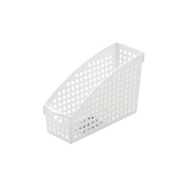 A4 basket stand white