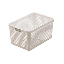 Basket Deep White