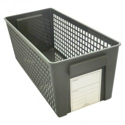 Trim basket slim black