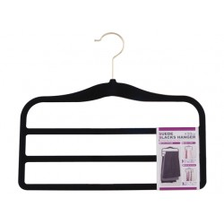 Suede Slacks  hanger black