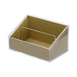 Clear Craft Case Letter Stand