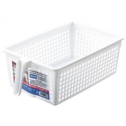 Arrange White basket wide 199x340x116Hmm