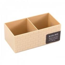 Brick type box beige