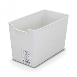 Storage box slim gray