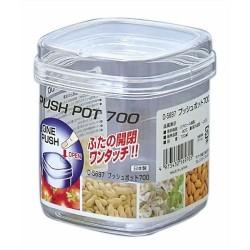 Push Pot 700 ml clear