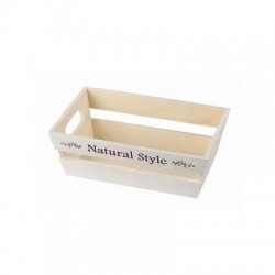 Wooden trapezoidal box