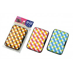 Card case checkered