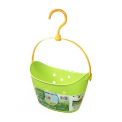 Pinch Basket Wide Green
