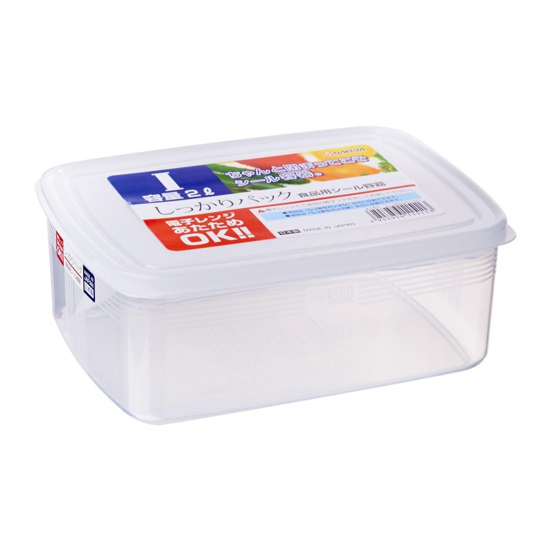 Clear Plastic Food Container I 2L , K151