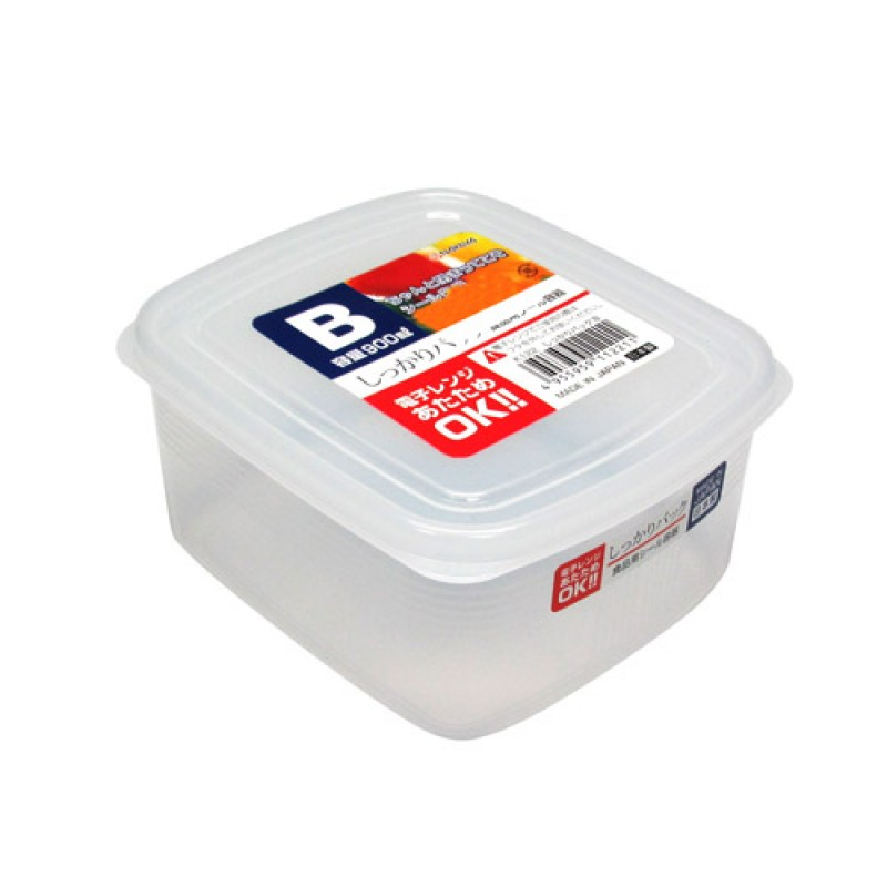 Clear Plastic Food Container B 630ml , K122