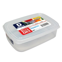 Clear Plastic Food Container D 830ml , K124