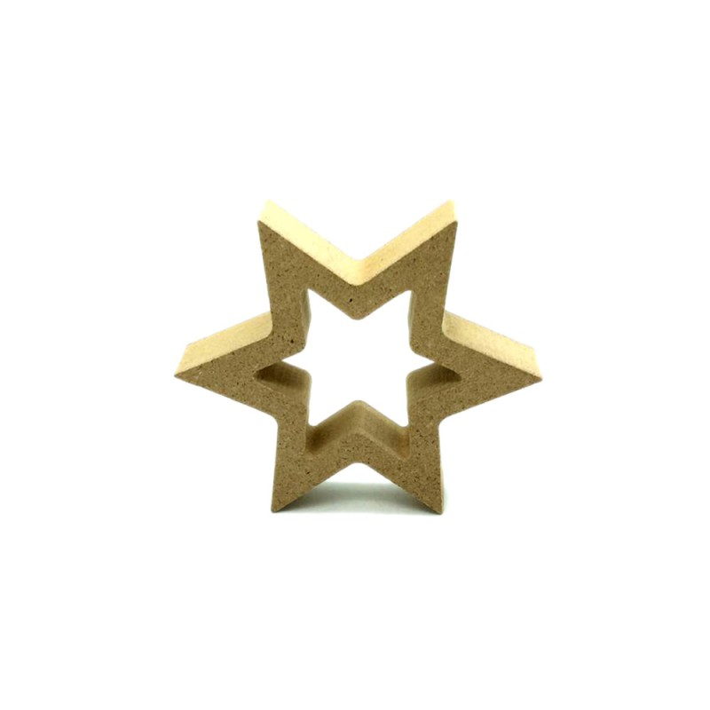 SALE 2 FOR $2! Star Kraft Ornament 2pcs
