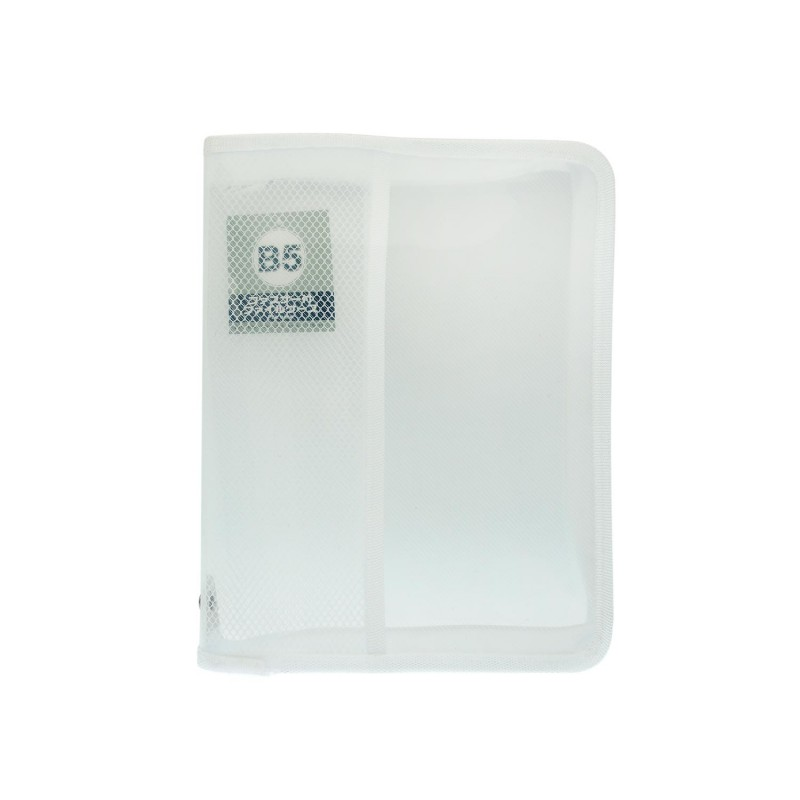 B5 Document Holder Transparent White