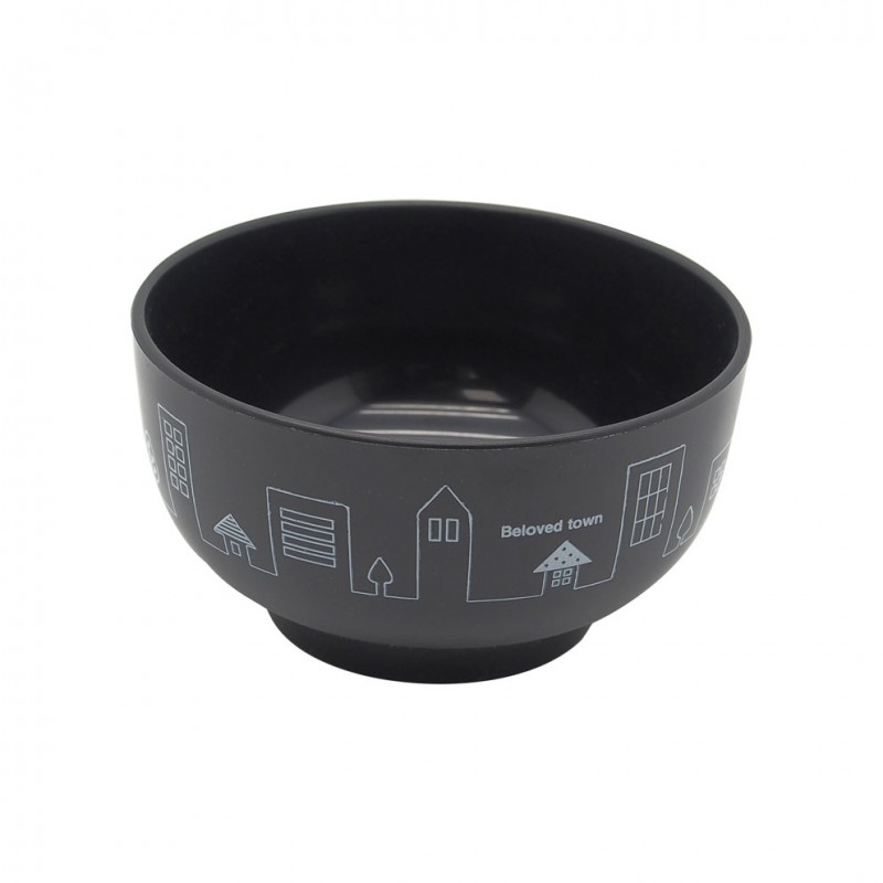 Bowl Black Town 105xH57mm 300ml