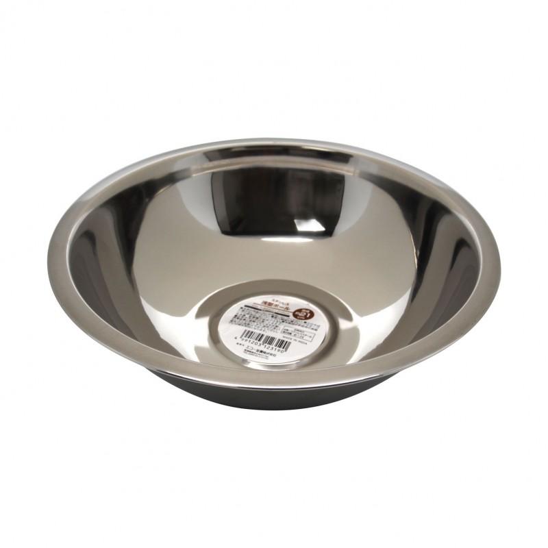 Bowl Stainless Steel 6cmHx18cm
