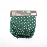 Garden Arm Covers Green Polkadots 9x34x12cm