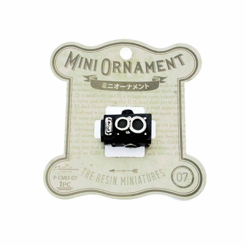 Mini Ornament Camera Black