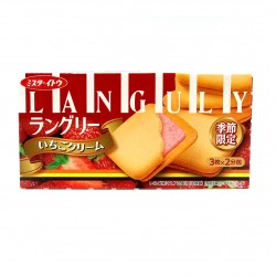 Ito Languly Strawberry Cream 6pcs Exp 6/2019