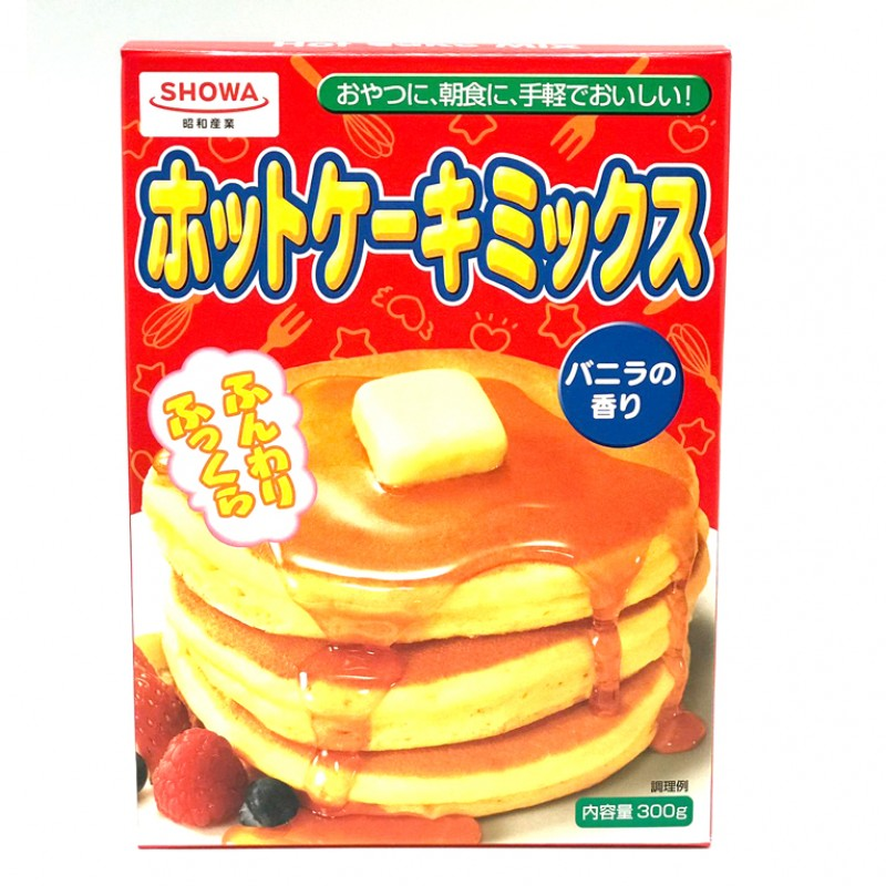 Showa Hot Cake Mix 300g Exp 10/2019