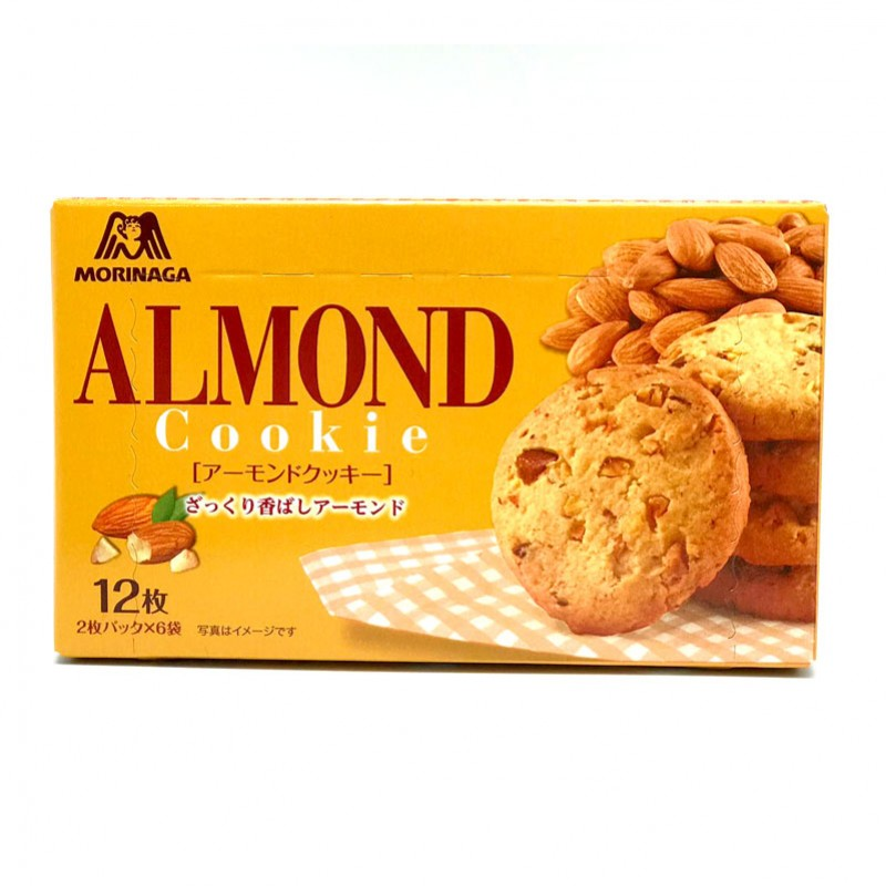 Morinaga Almond Cookie 12pcs Exp 3/2019